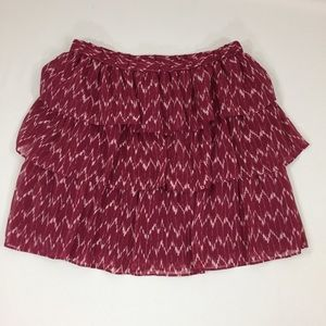 Gap Ruffle Skirt M
